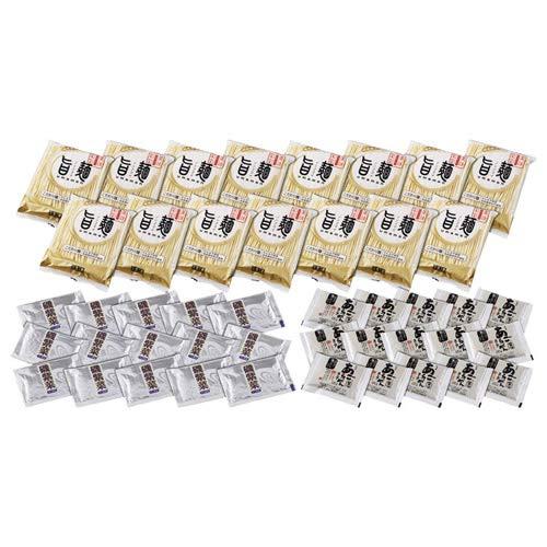 【まとめ 2セット】 あごだし醤油ラーメンセット(磯紫菜付き) M80606327