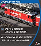 KATO Nゲージ アルプスの機関車Ge4/4-II 氷河特急 3102-2 鉄道模型 電気機関車