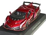 京商 1/64 ランボルギーニ ミニカーコレクション6 ヴェネーノ 赤メタリック