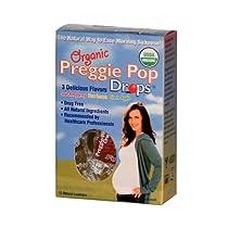 3箱パック Preggie Pop Drops Organic プレギー・ポップ・ドロップス・オーガニック サワーキャンディー