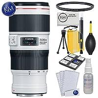Canon EF 70-200mm f/4L is II USMレンズ+ K&Mレンズバンドル