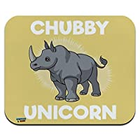 チャビーユニコーンRhino Rhinoceros 薄型薄型マウスパッドマウスパッド