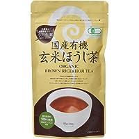 小川生薬 国産有機玄米ほうじ茶 ティーバッグ 40g(20袋)