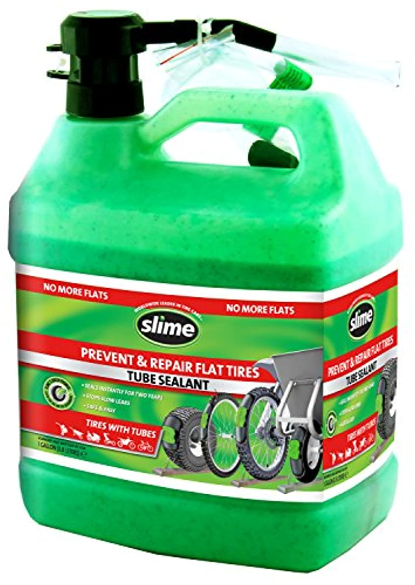 自治啓示ビールSlime 10162 Tube Tire Sealant, 1 Gallon by Slime
