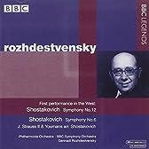ショスタコーヴィチ:交響曲第6番、第12番、タヒチ・トロット、J.シュトラウス2世:ポルカ「観光列車」、「まあ、つべこべ言わずに」(1962-1981)