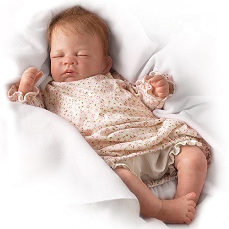 アシュトンドレイク Waltraud Hanl Hush、コレクションもできる本物そっくりな女の子の赤ん坊ドール: まるで生きているよう - 18インチ アシトン?ドレイクより 【並行輸入品】