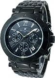 [サルバトーレマーラ] Salvatore Marra 腕時計 クロノグラフ SM8005-IPBKBK メンズ [国内正規品]