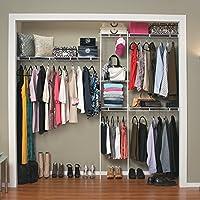 ClosetMaid 5 – 8 ft。クローゼットオーガナイザー 1 ホワイト 1628