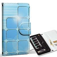 スマコレ ploom TECH プルームテック 専用 レザーケース 手帳型 タバコ ケース カバー 合皮 ケース カバー 収納 プルームケース デザイン 革 ラグジュアリー ユニーク シンプル 青 白 003329