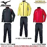 MIZUNO(ミズノ) モレリア ブレスサーモ メンズ ウォーマー 上下セット (P2ME5520/P2MF5520) (M, Bイエロー×ブラック(46/09))