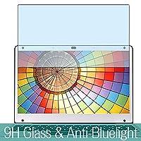 Vacfun ブルーライトカット T-bao Tbook Air 12.5インチ ガラスフィルム 有効表示エリアだけに対応 国産旭硝子採用 気泡無し 2.5D ラウンドエッジ 加工 反射 軽減 薄型 装着 簡単 強化ガラス 保護 フィルム 0.26mm 保護ガラス ガラス 9H 液晶保護フィルム プロテクター シート シール ブルーライト カット