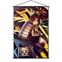 COSMORE タペストリー Fate/Grand Order フェイト グランド オーダー FGO Ushiwakamaru ポスター 掛ける絵 巻物 軸物 アニメ おしゃれ 萌え (90cmX60cm)