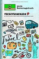 Tschetschenien Reisetagebuch: Kinder Reise Aktivitaetsbuch zum Ausfuellen, Eintragen, Malen, Einkleben A5 - Ferien unterwegs Tagebuch zum Selberschreiben -  Urlaubstagebuch Journal fuer Maedchen, Jungen