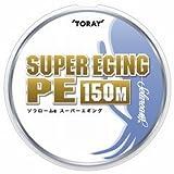 東レ(TORAY) ライン ソラローム スーパーエギングPE 150m 1号 ホワイト