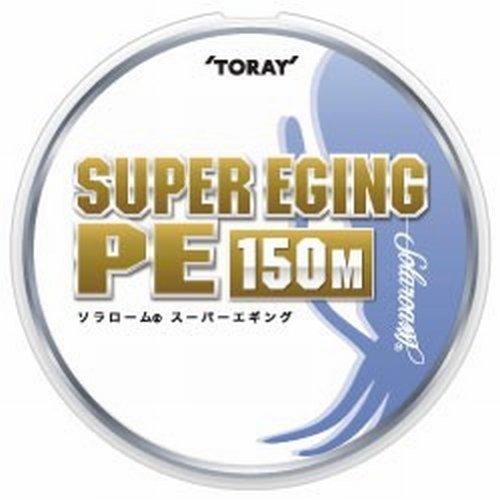 東レ ライン ソラローム スーパーエギングPE 150m 0.8号 ホワイト