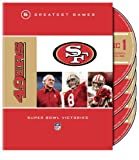 NFL 49ers 5 Greatest Games Super Bowl Victories [DVD] [Import]