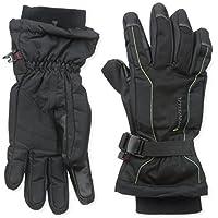 Manzella Men's Fahrenheit 5 Touch Tip Ski Gloves, Black, Large by Manzella [並行輸入品]