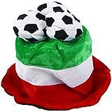 bestoyard Italフラグサッカーボールパーティー帽子キャップ2018ワールドカップサッカーファン帽子キャップ
