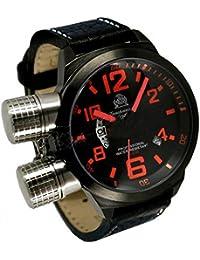 トーチマイスター1937 腕時計 2戦ドイツ海軍U-BOOT潜艦軍用復刻 GMT T0200 並行輸入品