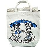 ディズニー 2WAY トートバッグ ミッキーマウス ミニーマウス カレッジ APDS3735