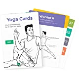 YOGA CARDS - Premium Visual Study, Class Sequencing & Practice Guide with Essential Poses, Breathing Exercises & Meditation · Plastic Flash Cards Deck with Sanskrit by WorkoutLabs (Men)