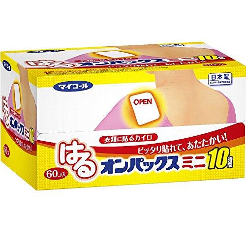 [해외]하루 온 팍스 붙이는 카이로 미니 60 개들이 일제   지속 시간 약 10 시간/Haru on pax stick paste 60 pieces made in Japan Made in Japan   duration about 10 hours