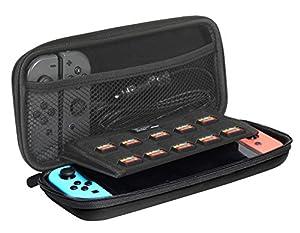Amazonベーシック Nintendo Switch用キャリングケース ブラック