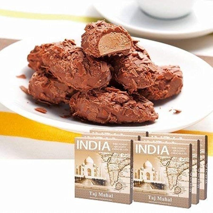 寸法警官脆いインド フレーク トリュフ チョコレート 6箱セット 【インド 海外土産 輸入食品 スイーツ】