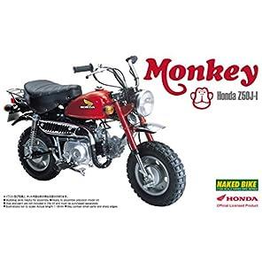 青島文化教材社 1/12 バイクシリーズ No.19 ホンダ モンキー プラモデル