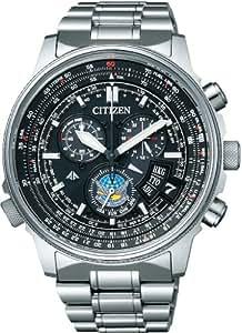 [シチズン]CITIZEN 腕時計 PROMASTER プロマスター SKYシリーズ Eco-Drive エコ・ドライブ 電波時計 ダイレクトフライト ディスク式 ブルーインパルスモデル 【数量限定】 BY0080-65E メンズ