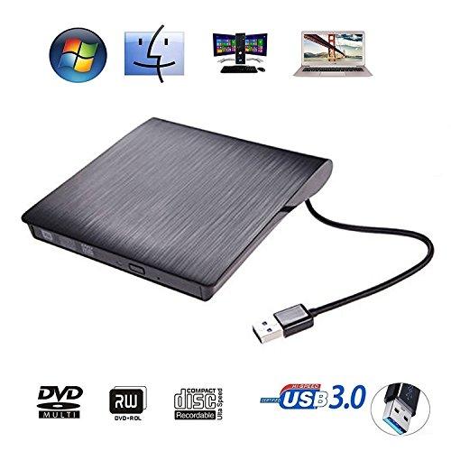 DVD ドライブ USB3.0 DVD プレイヤー ポータブ...
