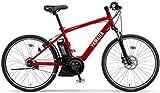 YAMAHA(ヤマハ) 電動アシスト自転車 2017年モデル PAS ブレイス 26インチ[高容量15.4Ahバッテリー,液晶5ファンクションメーター搭載] PA26AGBR7J マットレッド