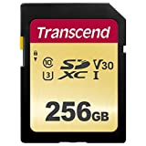 Transcend SDXCカード 256GB MLC NAND 採用 UHS-I Class10 (最大転送速度95MB/s) TS256GSDC500S 【Amazon.co.jp限定】