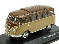 Yat Ming ym43209bn VW Microbus 19622トーンブラウンModellino 1: 43Die Castモデル