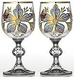 ラスカボヘミアグラス サブリナ ワインペア(L) APL-801