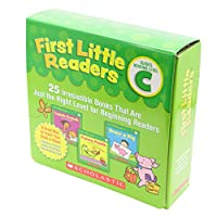Scholastic First Little Readers Pack C (25 Books) with CD ファーストリトルリーダーズ・ボックスセットC (25冊・CD付き)