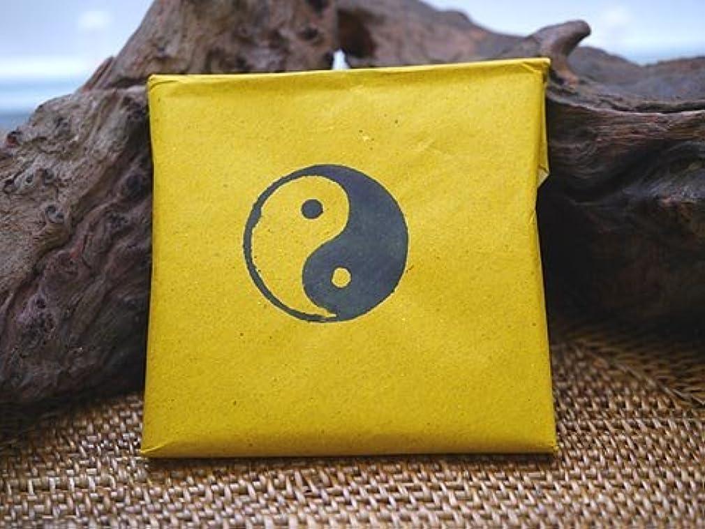 背骨オーガニック簡潔なVietnam Incense ベトナムのお香【インヤン印 パウダー香 イエローパッケージ】