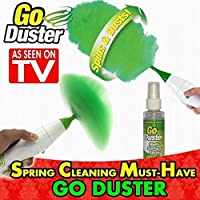 TV hot selling Go Duster Electric Feather Duster Electric Dust Brush Scroll Brush Vacuum Cleaner Parts