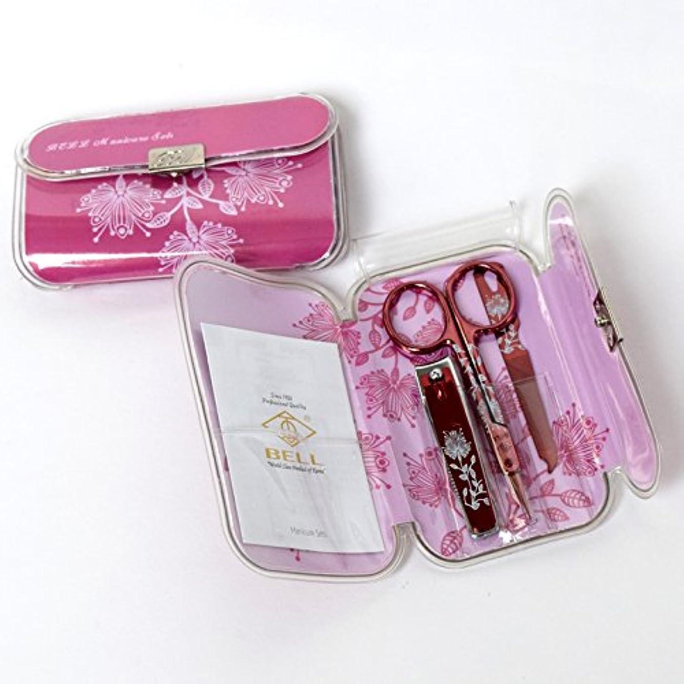 幸福高揚したアコードBELL Manicure Sets BM-330D ポータブル爪の管理セット 爪切りセット 高品質のネイルケアセット高級感のある東洋画のデザイン Portable Nail Clippers Nail Care Set