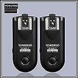 YONGNUO製 RF603CII-C3 第二世代 ワイヤレス・ラジオスレーブ 無線レリーズ キャノン用セット Canon 1D、50D、20D、30D、40D、50Dなど対応