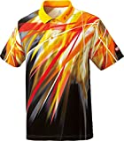 ニッタク(Nittaku) 卓球 ゲームシャツ ルチアン 男女兼用 NW2161 イエロー(60) L