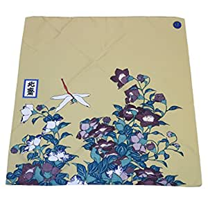 KINDWARE 北斎の風呂敷 70cm×70cm 一般社団法人日本美術アカデミー認定 … (花鳥図柄)