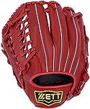 ZETT(ゼット) 野球 軟式 グラブ (グローブ) バーノン オールラウンド 左投用 レッド(6400) RH BRGB35830