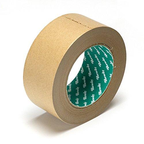 日本製 クラフトテープ 梱包テープ ブラウン 5cm×50m 梱包用 HD-337 50個セット