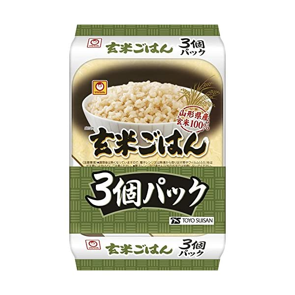 マルちゃん 玄米ごはん3食パック 480g×8個の紹介画像2