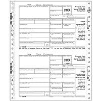 連続連邦税フォーム1099-b-印刷EZ 4000