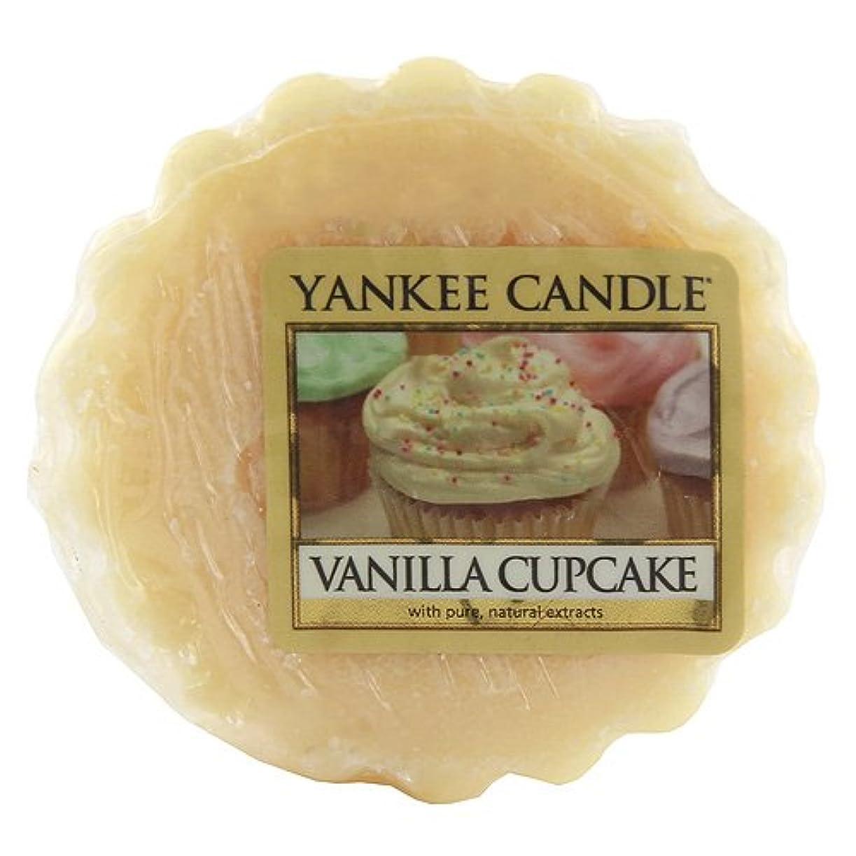 昨日精神患者【YANKEE CANDLE/ヤンキーキャンドル】Tarts® Wax Melts タルト ワックスポプリ ワックスメルト Vanilla Cupcake バニラカップケーキ 0.8oz (22g)