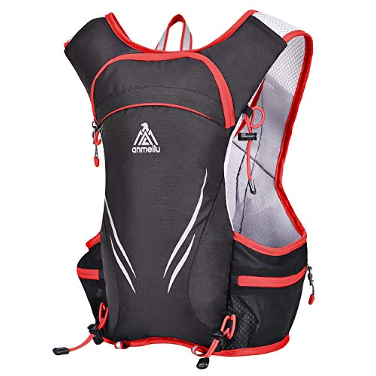 リベラル変装ブースパラディニア(Paladineer) ハイドレーションバッグ ランニングバッグ 5L 揺れにくい ナイロン 撥水 マラソン サイクリング 登山 自転車バックパック 光反射