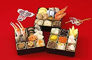 北海道食材 無添加おせち(5寸3段)26品