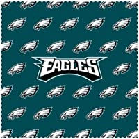 Siskiyou Sports FSCC065 Eagles Sunglass Microfiber Cleaning Cloth